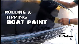 Rolling and Tipping | Do's & DON'Ts of painting your boat.