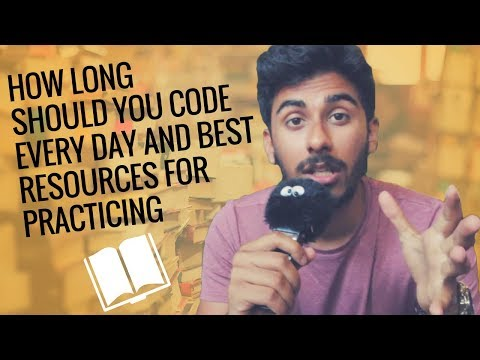 How Long Should You Code Every Day and Best Resources for Practicing