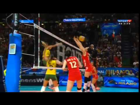 Brasil x China - World Championship 2014
