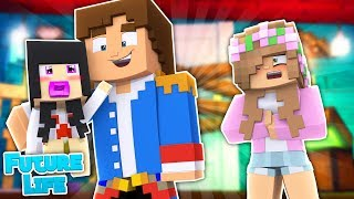 IS LITTLE DONNY THE FATHER? Minecraft Future Life | Little Kelly