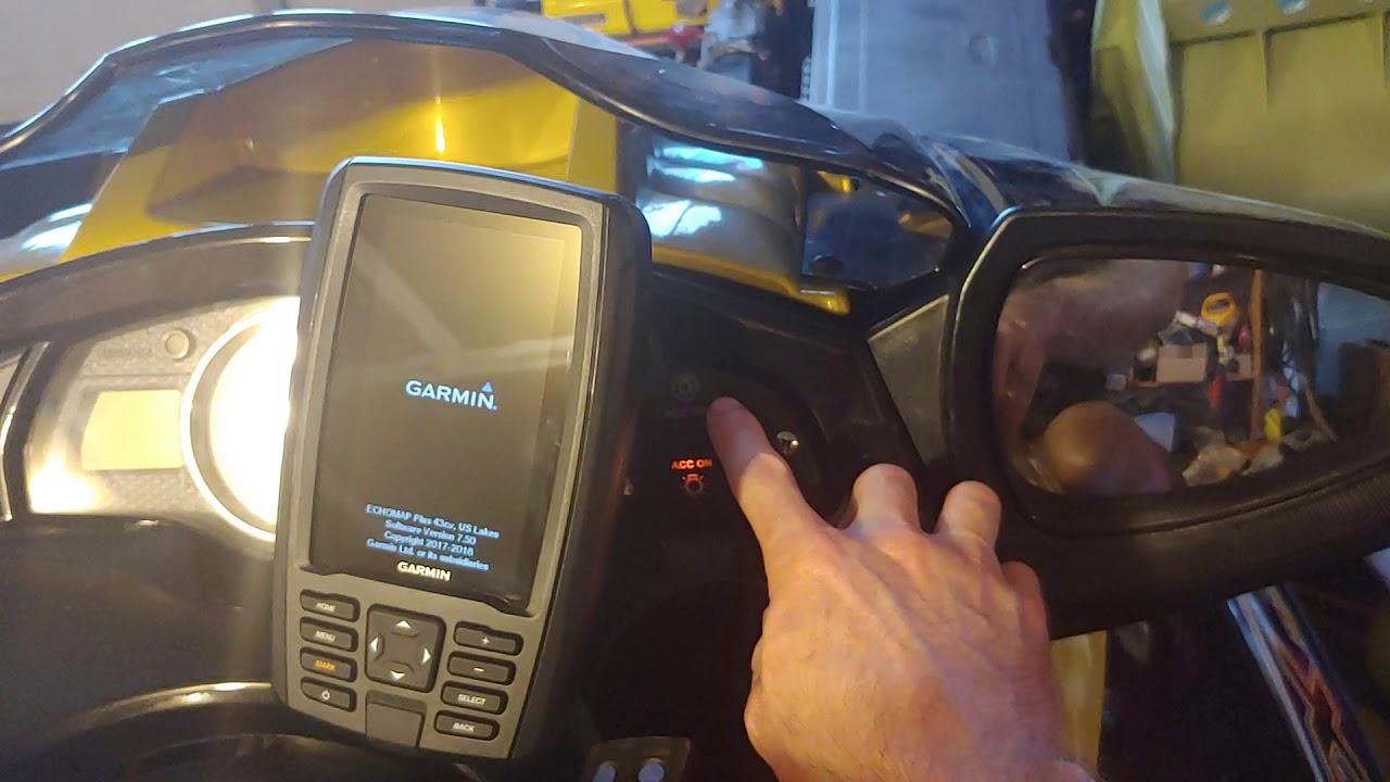 Garmin Echomap Install on 2006 Yamaha FX-HO on