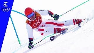 Alpine Skiing | Men's Giant Slalom | Pyeongchang 2018 | Eurosport