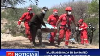 MUJER ASESINADA EN SAN MATEO TRABAJABA EN LOCALES NOCTURNOS