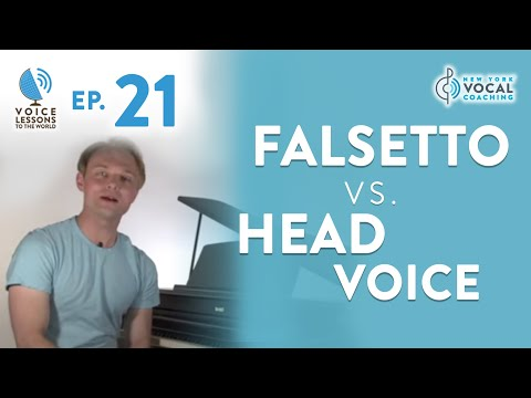 "Ep. 21 ""Falsetto Vs. Head Voice""- Voice Lessons To The World"