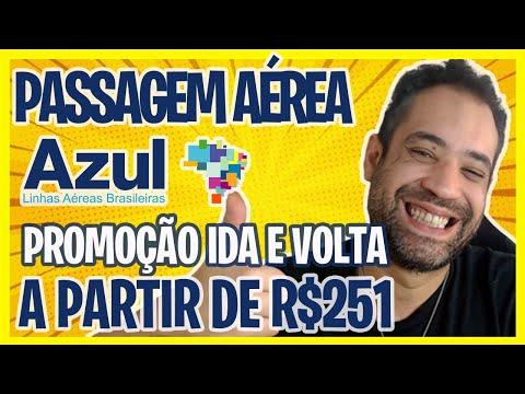 ☑ PASSAGEM AÉREA AZUL - PROMOÇÃO IDA E VOLTA A  PARTIR DE R$251!