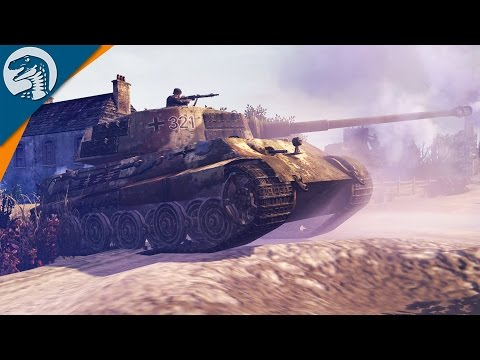 V1 ROCKET STRIKES, KING TIGER ACE & SUPER SOLDIERS | Wikinger Mod | Company of Heroes 2 Gameplay