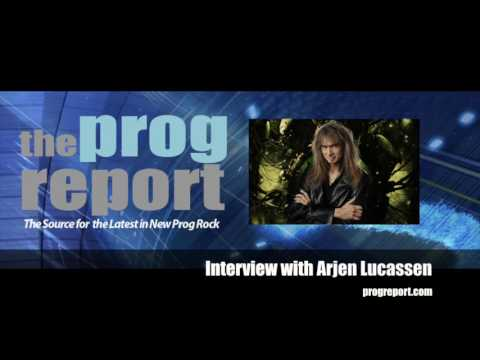 Arjen Lucassen Interview (Ayreon-The Source) - The Prog Report