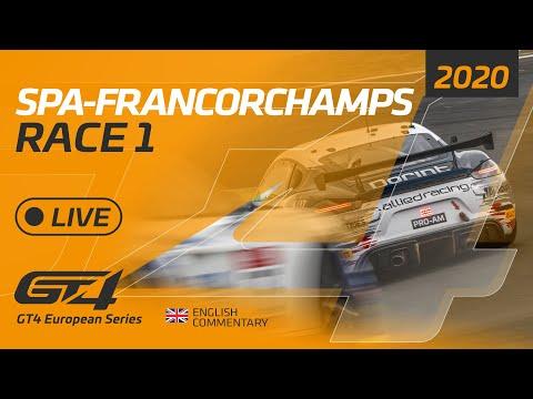 RACE 1 - GT4 EUROPEAN SERIES - SPA 2020 - ENGLISH