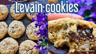 Lavein cookies/New York style cookies/ bánh quy chocolate hạt óc chó kiểu New York!