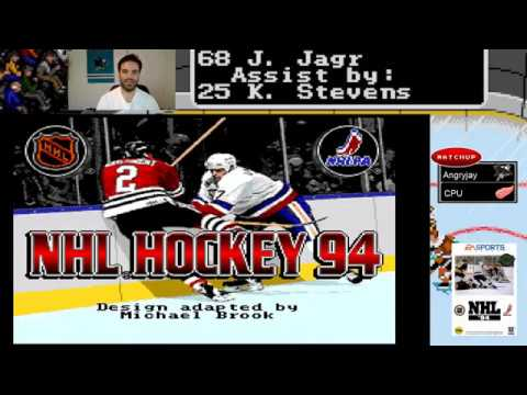 NHL '94: Angryjay Introduction & Part 1 of San Jose Cup Run