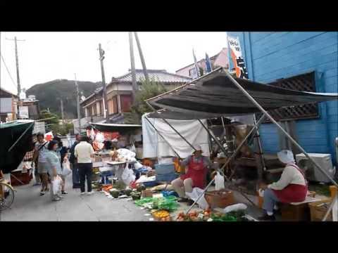 A Morning Market in Katsuura 勝浦の朝市