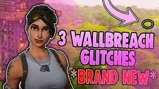 Fortnite | 3 *NEW* Wallbreach Glitches [MOISTY MIRE, PRISON AND FATAL FIELDS!]