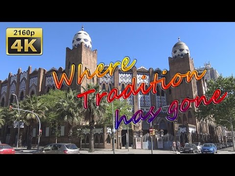 Barcelona, along the Gran Via de les Corts Catalanes - Spain 4K Travel Channel