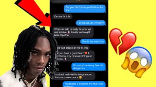 """YNW MELLY """"SUICIDAL"""" LYRIC PRANK ON MY EX *She Wants To Get Back together 😬*"""