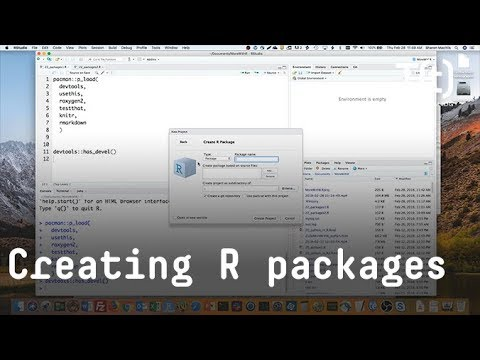 How to write your own R package