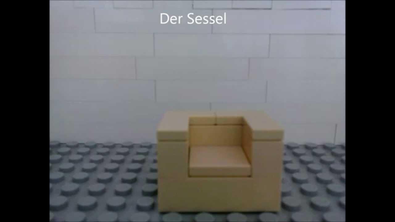 Lego Bauanleitung Fur Sessel Youtube