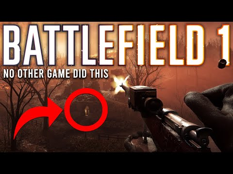 Battlefield 1 did this better than any other game...