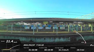 [FHD|ac]JR東日本・高崎線(湘南新宿ライン):新町→池袋駅間、E231系/特別快速、乗車走行シーン。【車窓・側面展望】