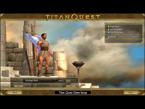 Titan Quest Anniversary Edition Walkthrough [BLIND]-Part 1- A Hero Emerges to Defend Horses! |