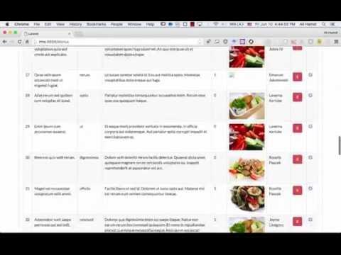 51 Laravel 5 2 Restaurant Management System Meals Part 1 - ويتروو