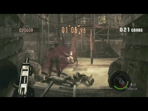 Resident Evil 5 Xbox One Live Stream #1 Zombie time