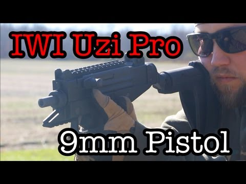 IWI Uzi Pro 9mm Pistol