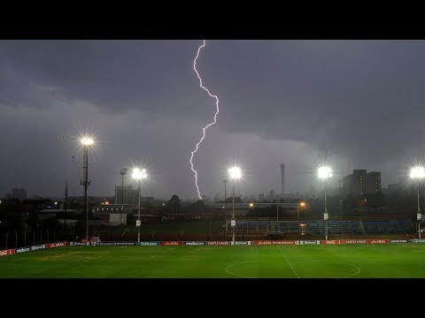 See Soccer Players Get STRUCK By Lightning During Match!