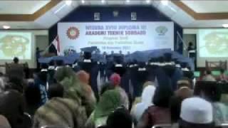 ATS: Prosesi Wisuda ke-18 D3 Tahun 2011