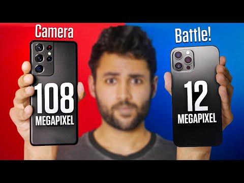 Samsung Galaxy S21 Ultra vs iPhone 12 Pro Max Camera Test Comparison. - Mrwhosetheboss