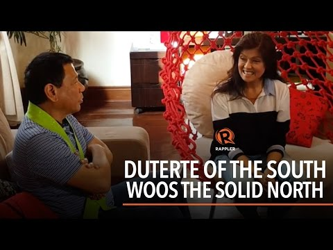 Duterte of the South woos the Solid North