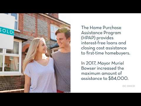 We Love Housing DC Residents: Home Purchase Assistance Program Video 1