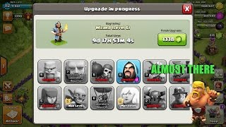 Clash of clans Rush to max th 11 ep 6