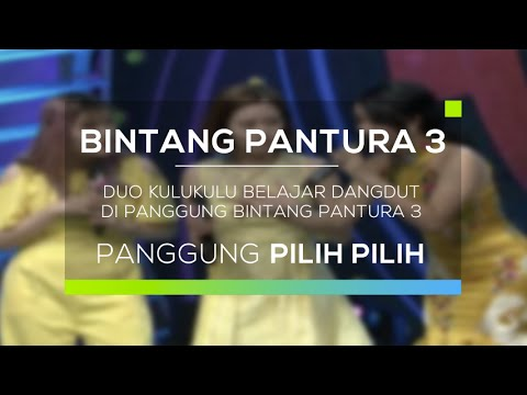 Duo Kulukulu Belajar Dangdut di Panggung Bintang Pantura 3