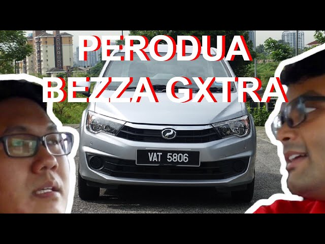 Perodua Bezza GXtra 1.0 Review