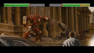 Hulk vs Hulkbuster...with healthbars