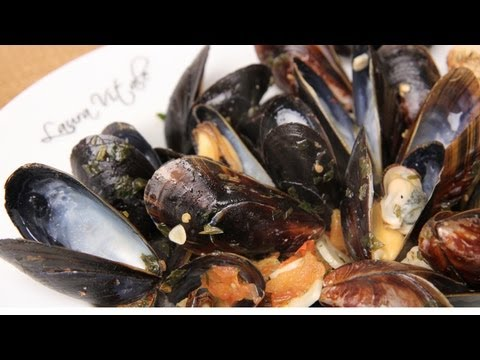 Mussels In Spicy Broth Recipe - Laura Vitale - Laura In The Kitchen Episode 260