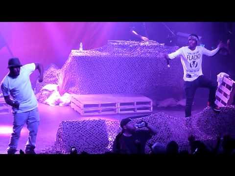 ASAP Rocky - Brand New Guy ft Schoolboy Q LIVE!!