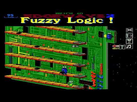 AMIGA FUZZY LOGIC FUZZY LOGIC! FROM Assassins CD 02 Ultimate Games 1995Weird Science!Amiga CDTV32
