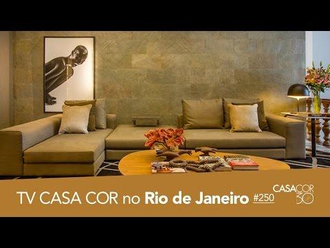 CASACOR Rio 2016: salas, copa e varanda no TV CASACOR ao VIVO!