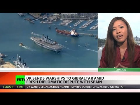 Gibraltar Gambit: UK sends warships to colony amid dispute with Spain