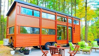 Incredible Beautiful The Traveler Xl Tiny House Escape In New York | Living Design For A Tiny House