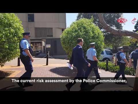 Special Constables Walk Off The Job