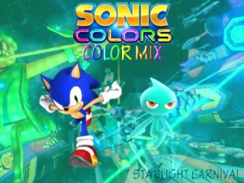 Sonic Colors Color Mix Laser Starlight Carnival Youtube