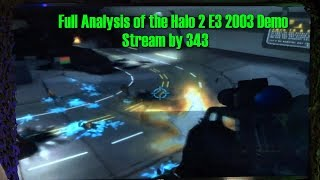 Full Analysis of the Halo 2 E3 2003 Demo Stream by 343 Industries
