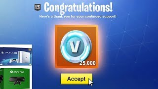 How to earn V-BUCKS on FORTNITE XBOX ONE, PS4 and PC * 2019 *