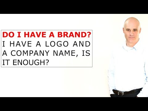 Difference between brand, branding, and a company name