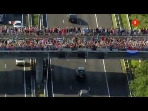 Funeral procession Netherlands Flight MH17 Victims