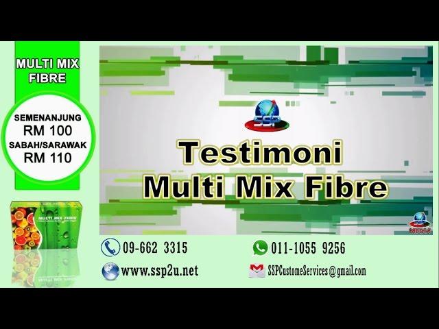 Testimoni SSP 1 (Multi Mix FIbre)