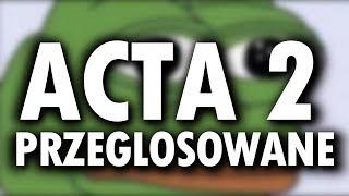 ACTA 2 PRZEGŁOSOWANE - KONIEC WOLNEGO INTERNETU