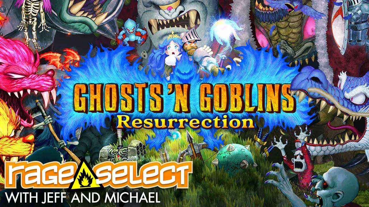 Ghost 'n Goblins Resurrection (The Dojo) Let's Play